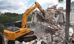demolição de paredes interiores