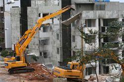 custo de demolição por metro quadrado