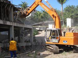 orçamento de demolição
