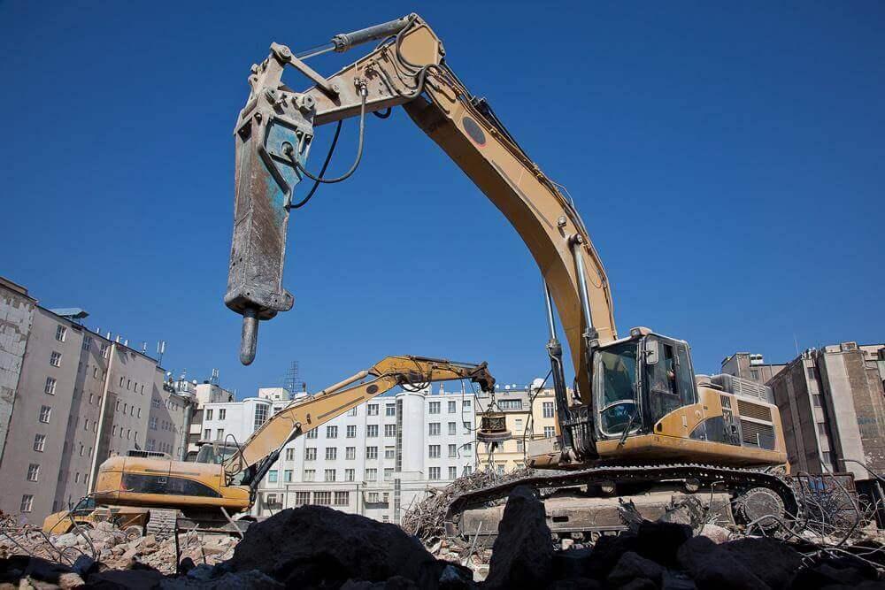martelo hidraulico escavadeira