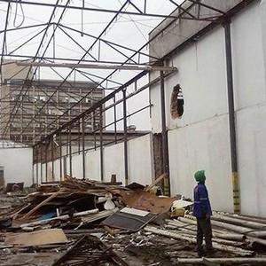 Demolição de estrutura metalica preço