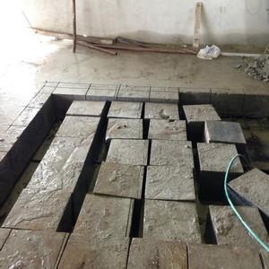 Demolição de laje de concreto