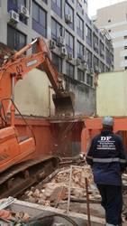 Demolição de prédios