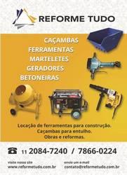 Empresa de locação de equipamentos para construção civil